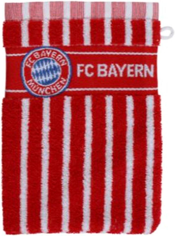 Bayern M/ünchen Gant de Toilette Compatible avec Les Gants de Toilette Autocollant Munich Forever Gants Main