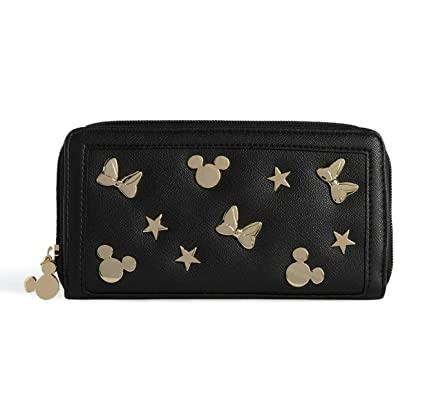Disney Minnie Mickey Mouse Monedero para mujer - negro y ...