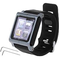 NA. Smart Aluminium Metalen Horloge Band Pols Kit Cover Case Voor Apple IPod Nano 6 6e