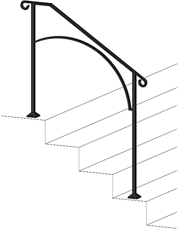 Staircase Handrails Amazon Com Building Supplies