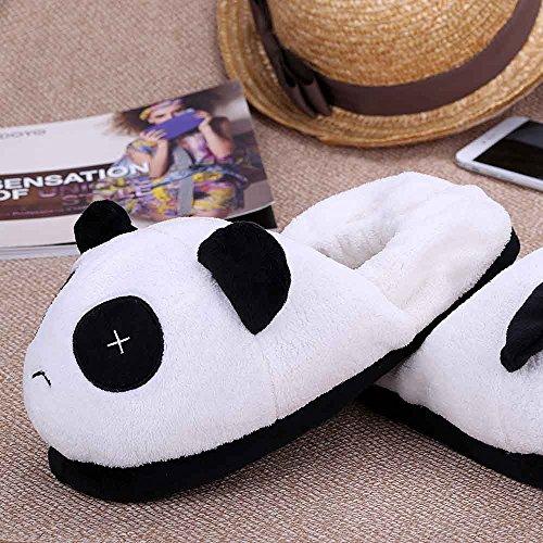 Winter Panda Anself Warm Comic nbsp;in nbsp;cm 28 11 Familie Schuhe Liebhaber Hausschuhe Pl眉sch Weich Thermal Decke der t0nUFr0q