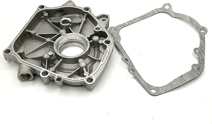 Shioshen Motor Cárter cigüeñal Lado Caja W/Junta de Tapa para Honda GX160 GX200 Gas 4T Motor generador