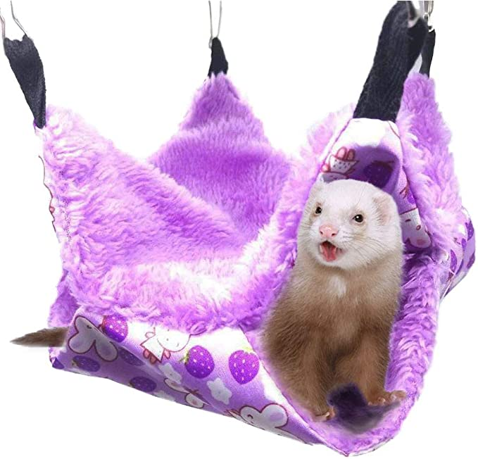 Sugar Gliders Or Other Small Animals SH58 Small Hammock for Baby Bearded Dragons Leopard Geckos