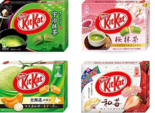 Kit Kat Mixed 12 Pcs. 4 Flavors 2016 new version