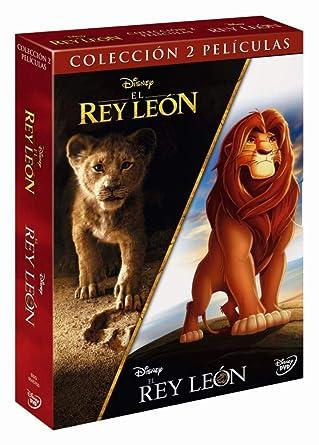 Pack DVD: El Rey León clásico + El Rey León imagen real: Amazon.es ...