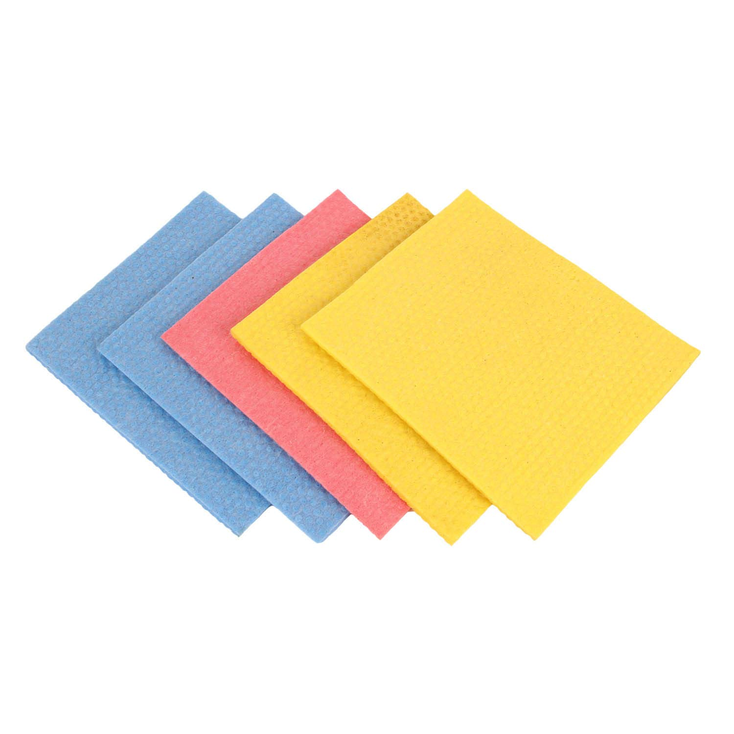 Amazon price history for 5pc Set Kitchen Sponge Wipe/All Surface Sponge Cloth Made of 100% Biodegradable Cellulose