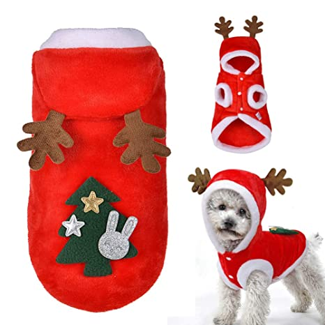 FIRECW Ropa para Perros Ropa De Navidad Ropa para Mascotas ...