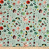 Art Gallery Fabrics Art Gallery Garden Dreamer Moment Fabric by the Yard, Time Light