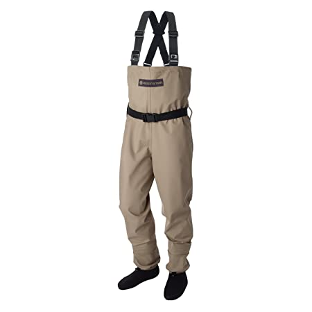 Redington Crosswater Youth Fishing Wader, Tan, Kids 8-10