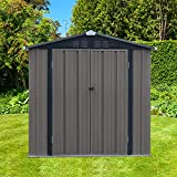 Kinsuite 6' x 4' Outdoor Backyard Storage Shed