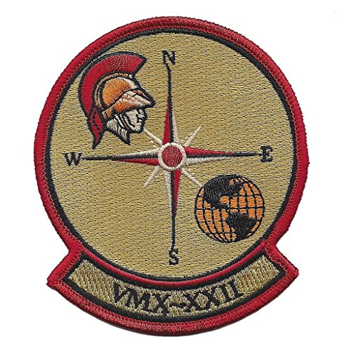 USMC VMX-22 OPERATIONAL TEST AND EVALUATION SQUADRON PATCH - Color - NON ()