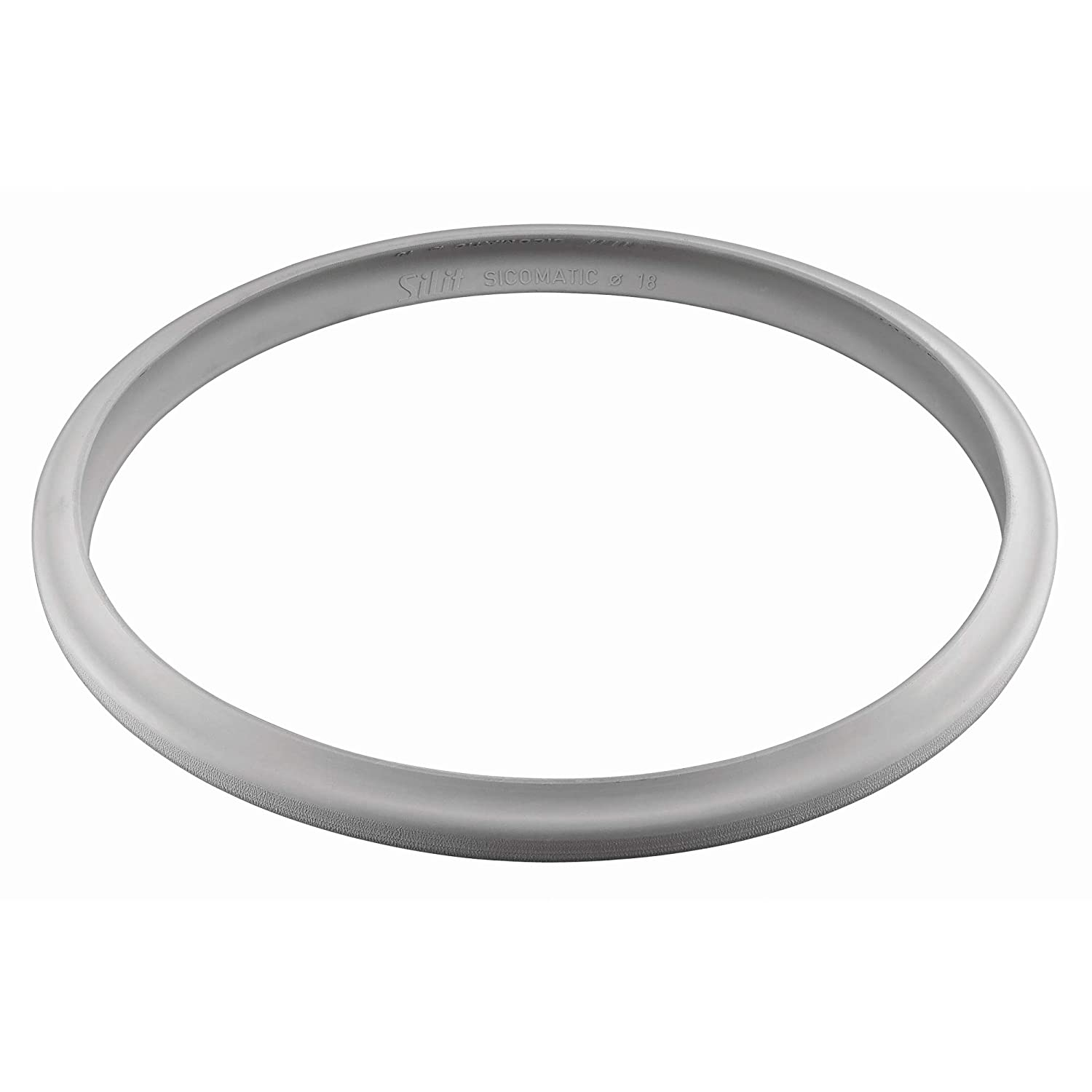 Silit Spare Part Pressure Cooker Sicomatic Silicone Rubber Ring, Transparent, 22 cm