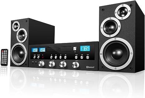 Amazon.com: Sistema estéreo Bluetooth clásico innovador con ...