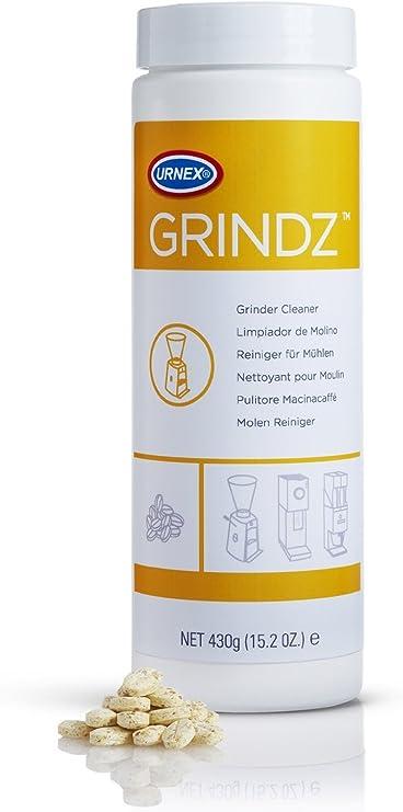 Molinillo de café Urnex Grindz para aspiradora, oz 15, 2 (430 gramos), diseño de jardín, césped, Mantenimiento: Amazon.es: Jardín