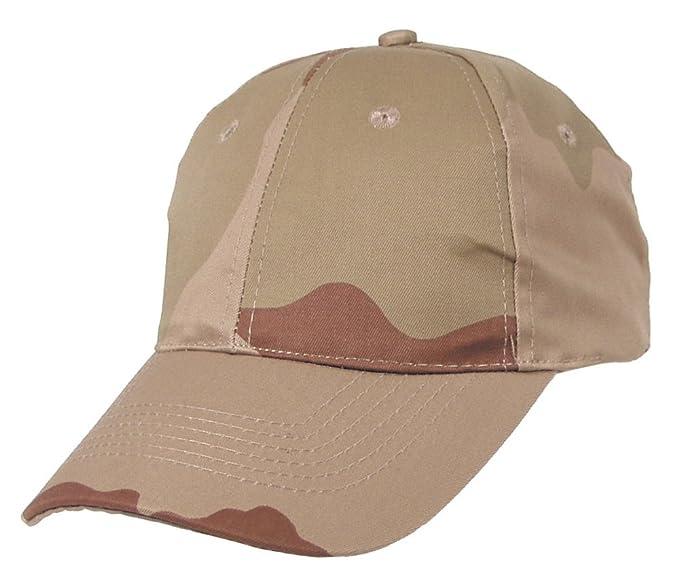 Gorra con visera de estilo militar, varias tallas, color caqui desert Talla: talla única: Amazon.es: Hogar