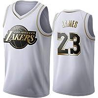 WSUN Camiseta De La NBA De Baloncesto para Hombre - Camisetas De Los Lakers NBA 23# Lebron James - Camiseta Deportiva De…