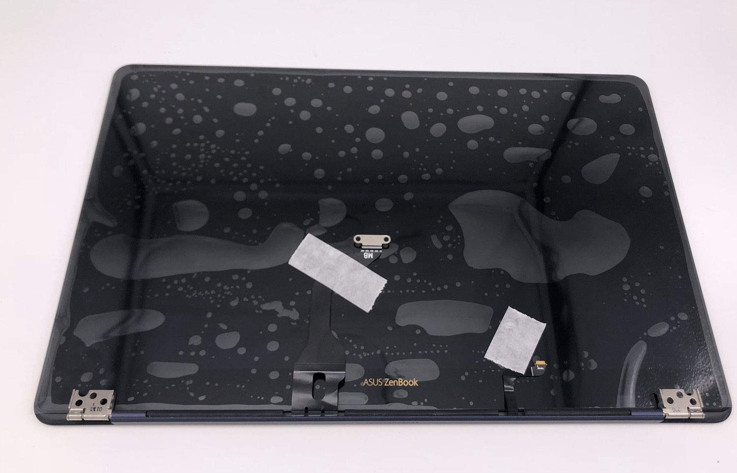 New Replacement 14'' FHD (1920x1080) LCD Screen IPS LED Display + Bezel Frame + Cover Complete Upper top Part Full Assembly with Cable Fit Asus ZenBook UX490UA