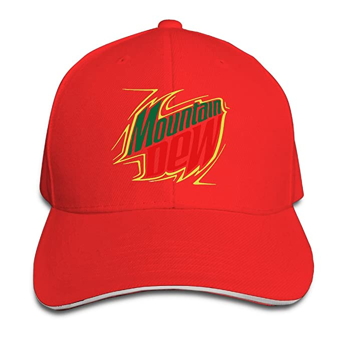 Amazon.com  MASTER Mountain Dew Energy Drinks Snapback Hats   Baseball Hats    Peaked Cap (7846237422375)  Books 0b8d5e412f40