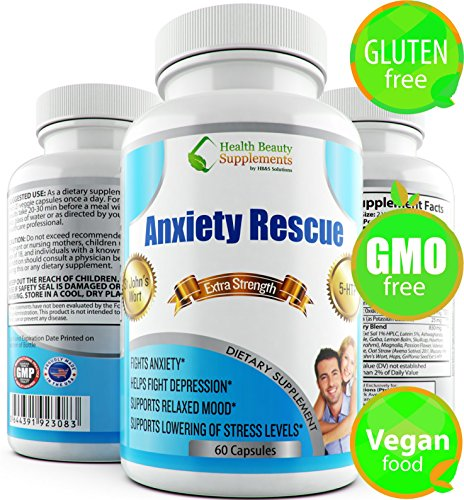 ANXIETY RESCUE Depression Supplements Supplement product image