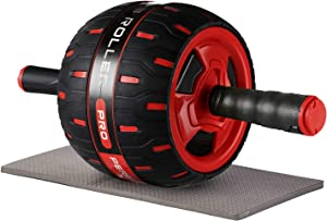 unhg Ab Roller for Abs Workout, Ab Roller Wheel Exercise Equipment for Core Workout, Ab Wheel Roller for Home Gym, Ab Workout Equipment for Abdominal Exercise