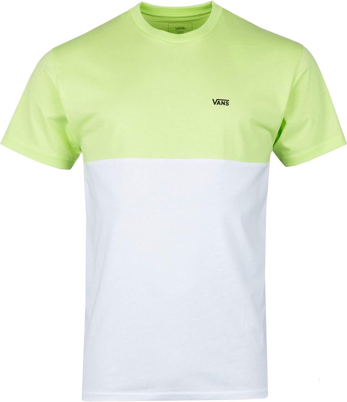 Vans Colorblock Tee - Camiseta para hombre, color TR6, tamaño small: Amazon.es: Ropa y accesorios