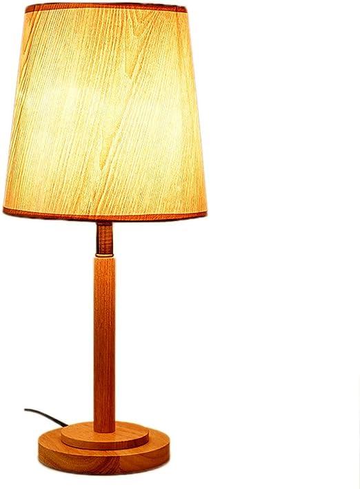 NJ Lámpara de Mesa- Dormitorio Lámpara de Noche Sala de Estar ...
