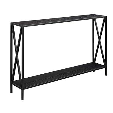 Convenience Concepts Tucson, Console Table, Black