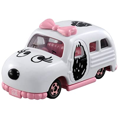 Takara Tomy Tomica Dream Series Snoopy's Sister Belle Car: Toys & Games