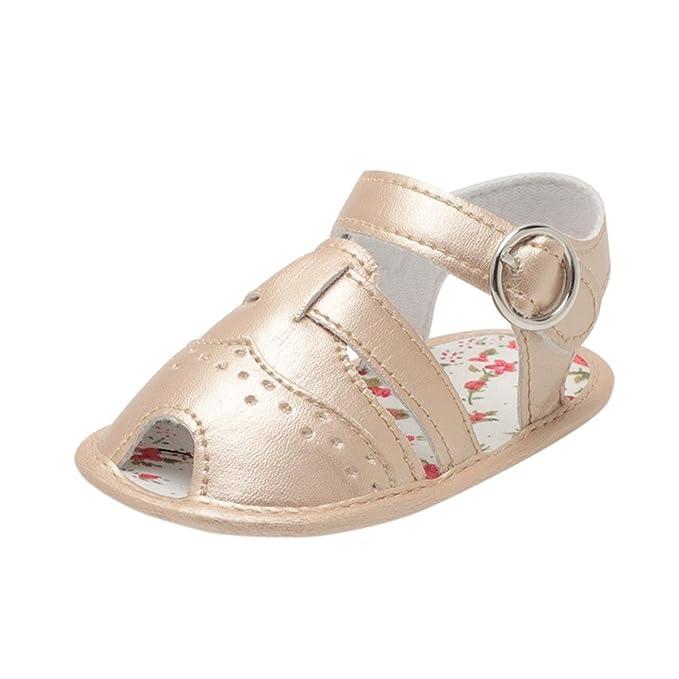 fb65f2cb633 KONFA Toddler Infant Baby Boys Fashion Open-Toe Sandals