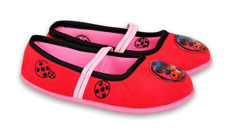ZAG Miracolous Ladybug Chaussons pour Fille Rouge Rouge 26 EU