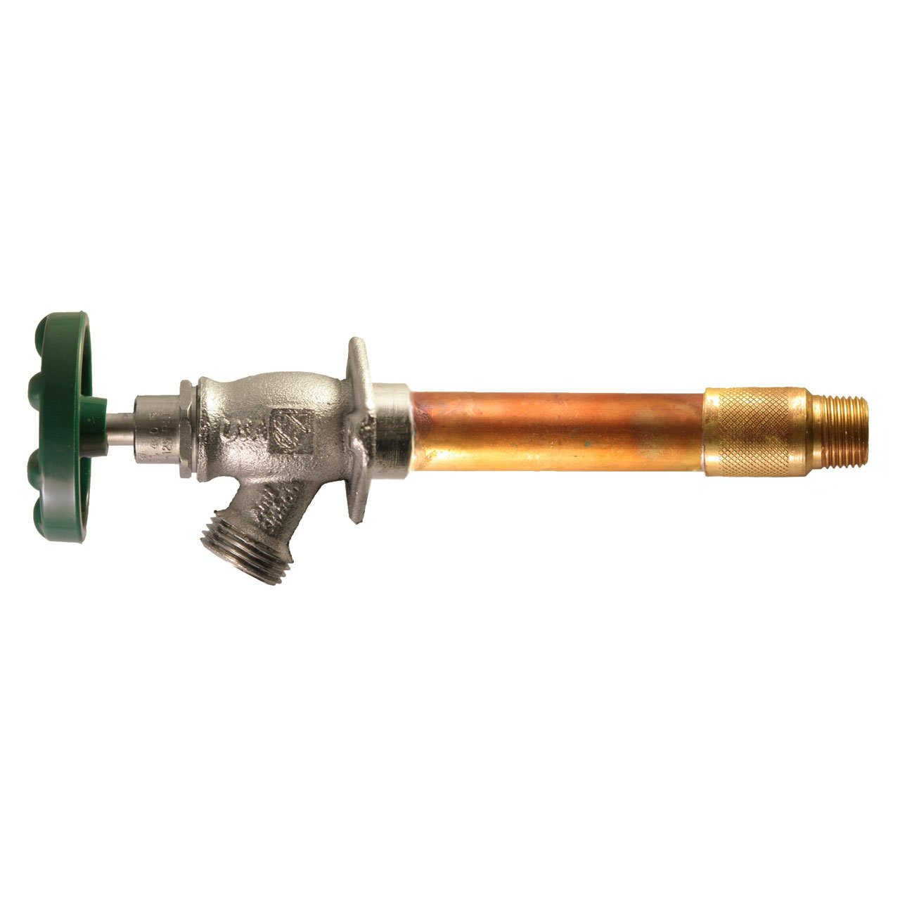 Arrowhead 476-04 4-Inch Freeze-Proof Arrow-Breaker QuickTurn Anti-Siphon Hydrant with 1/2-Inch Sweat or 1/2-Inch MIP Inlet Connection