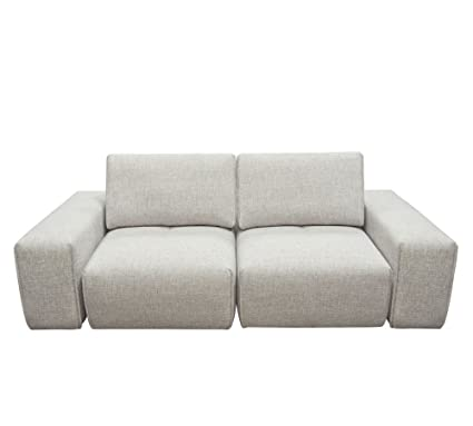 Amazon.com: Diamond Sofa 2-Seater Chaise Sectional with Adjustable ...