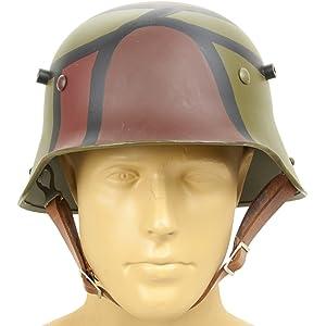 German WWI M16 Stahlhelm Steel Hand Painted Camouflage Helmet