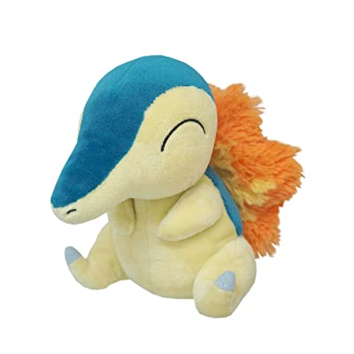 "Sanei Pokemon All Star Collection - PP41 - Cyndaquil Stuffed Plush, 6"": Toys & Games"