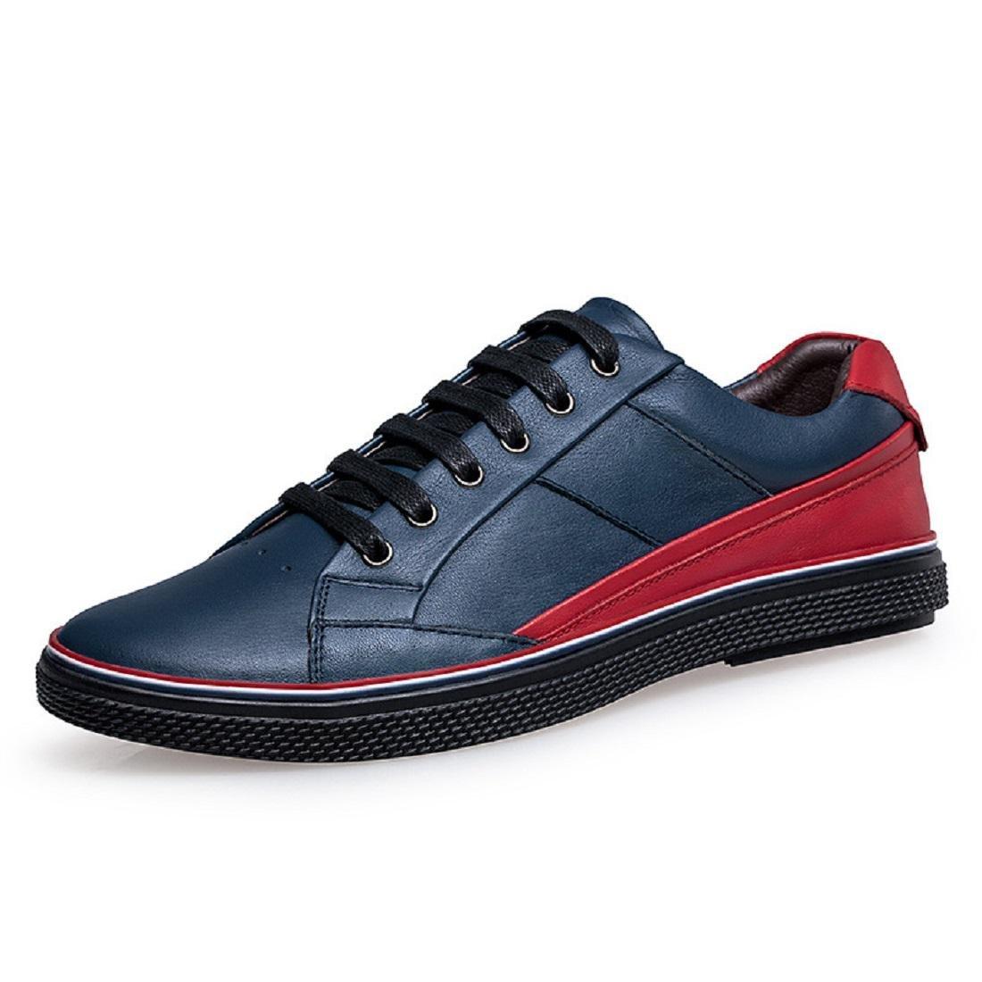 Herren Rutschfest Lässige Schuhe Flache Schuhe Sportschuhe Freizeit Lederschuhe Ausbilder Große Größe EUR GRÖSSE 38-46