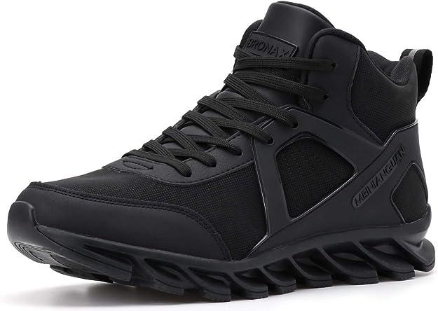 Bronax Sneakers Herren Männer Hightops Schwarz