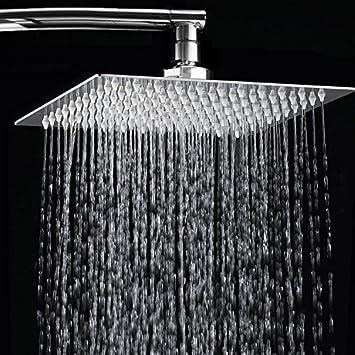 rain type shower head. MASCARELLO  8 Square Stainless Steel Rain Shower Head Rainfall Bathroom Top Sprayer New