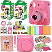 Fujifilm Instax Mini 9 Instant Camera Flamingo Pink +...