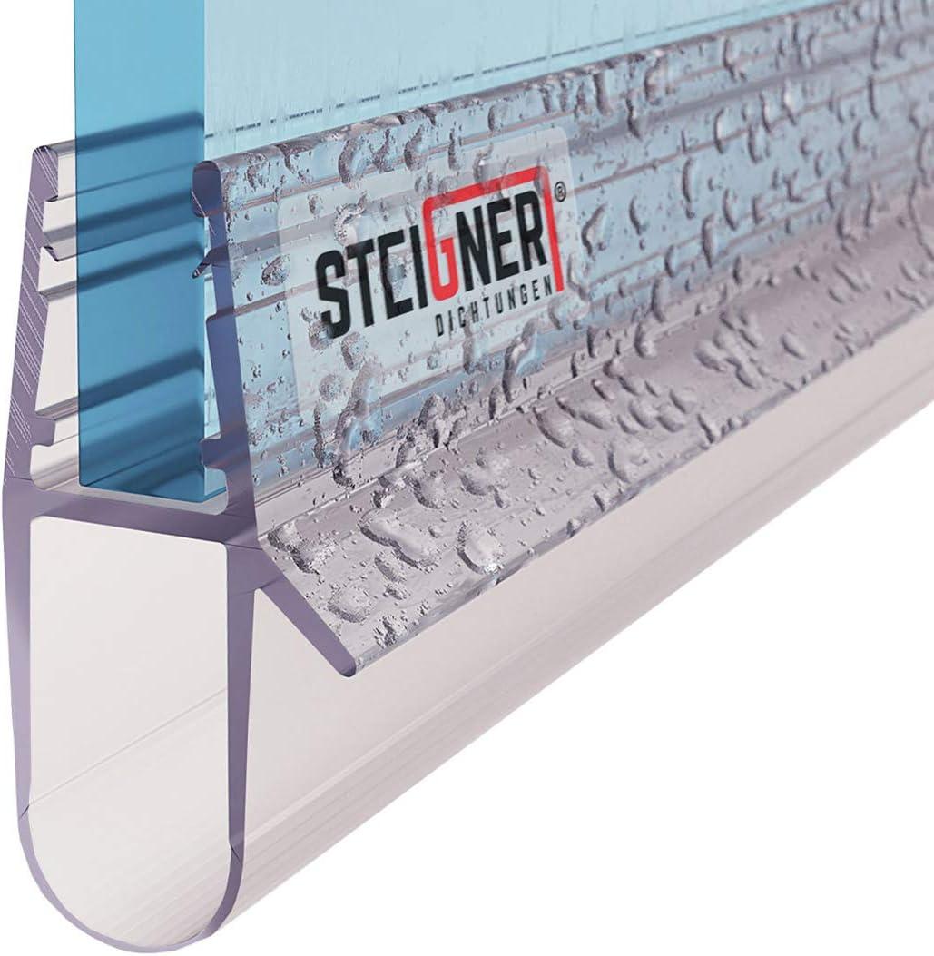 STEIGNER 30cm Joint d/étanch/éit/é de remplacement pour les vitres d/'une /épaisseur 5mm// 6mm// 7mm// 8mm UK17