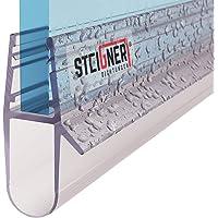 steigner 80cm Joint de rechange pour 5mm/6mm/7mm/8mm épaisseur de verre douche Déflecteurs d'air eau Joint uk17Cascade Protection Cabine de douche