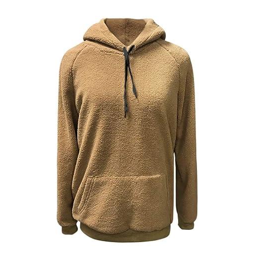 Darringls Abrigos de otoño, Suéter de Chaqueta Moda Camiseta de Manga Larga Mujer Jersey cálido Hoodie Sudadera con Capucha 2018: Amazon.es: Ropa y ...