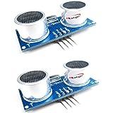 HiLetgo 2PCS HC-SR04 超音波距離センサーモジュール For Arduino [並行輸入品]