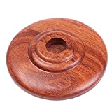 Soarun Cello Endpin Rest Stoper Holder Non-slip Pad (Rosewood)