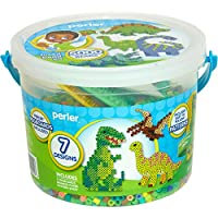 Perler Beads Dinosaur Craft Bead Bucket Activity Kit, 5004 pcs