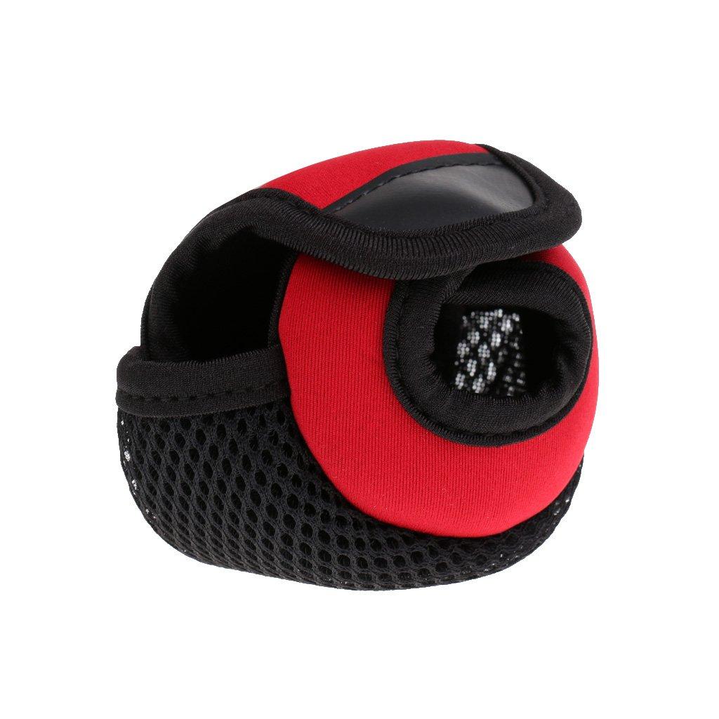 Spinning Reel Bag CUTICATE Multifunktions Baitcaster Baitcasting Angelrolle Abdeckung Handschuh Schutzrolle Aufbewahrungstasche