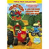 Tractor Tom - A Job For Buzz / Haywire Hens / Hide And Seek [DVD]