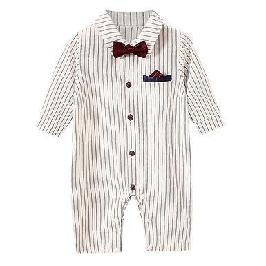 Divertido Pijama, K-Youth Ropa de Caballero Rayas Mameluco ...
