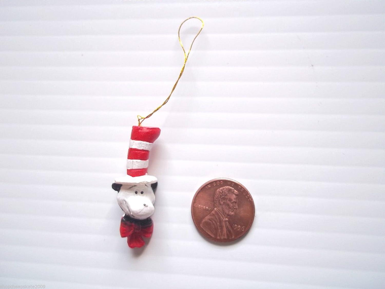 Cat in the hat ornaments - Amazon Com Dr Seuss The Cat In The Hat Figurine Ornaments Set Of 18 Home Kitchen