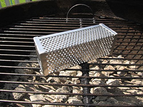 Smokincube Stainless Steel Wood Pellet Smoker Tube for Barbecue- 6 inch - Smoke Beef, Pork, Chicken and Fish- Cold Smoke Cheese & Nuts – Great for Use With Pellet Grills, Traeger grills- Makes Any Gri by SmokinCube (Image #5)