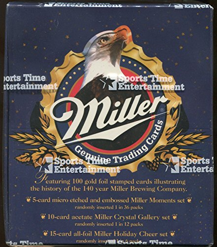 Miller Factory (1995 Miller Genuine Trading Cards & Sports Time Entertainment Factory Sealed Box)